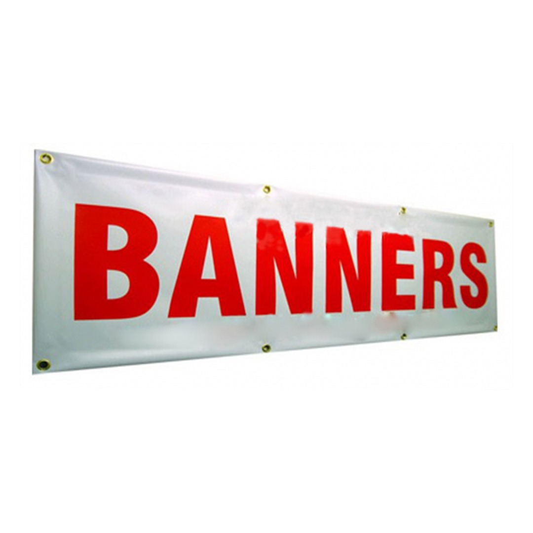 Custom Indoor/Outdoor Banners