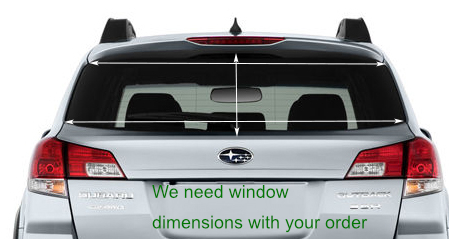 CONTRAVISION - One way VISION CAR 145x65 cm | 2013_subaru_outback_rearview.jpg